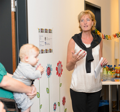 Opening of the ParentsKids Room